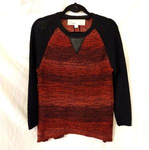 Curio New York Sweater faux leather
